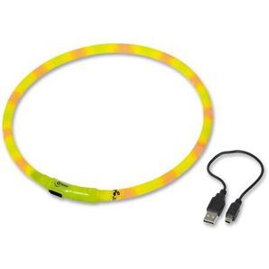 Nobby LED Lichtschlauch Visible, gelb, Länge: 70 cm; Durchmesser 10 mm