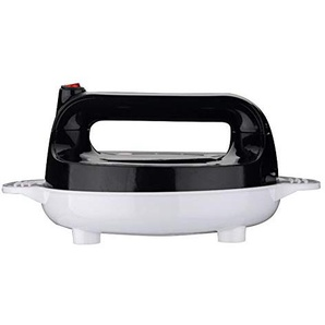 Elektrische Crepe Maker Crêpes Backform Chinesische Frühlingsrolle Braten Maschine Pfannkuchen Griddle Antihaft-kuchen Herdplatte 16 cm 600 W (Crepes-Backplatten),Black