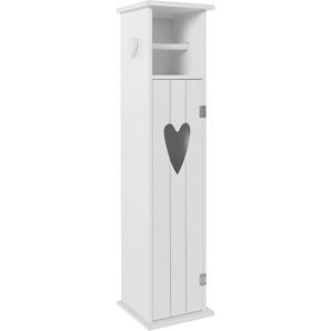 Home affaire Regal mit WC-Rollenhalter
