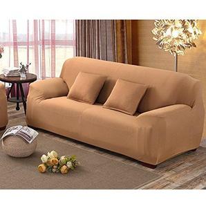 Anti-rutsch-Sofa slipcover,Sofa möbel Protector für Hund Hohe elastizität Couch-Abdeckung Volltonfarbe Schnittsofa werfen pad Für die ganze Saison-L 3 Seater (75 * 90inch)