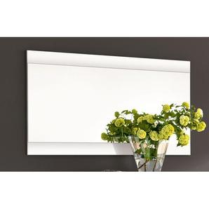 vito Spiegel SPACE Lack Weiß Hochglanz  ca. 99 x 58 x 2 cm