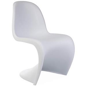 Panton Stuhl - Weiß