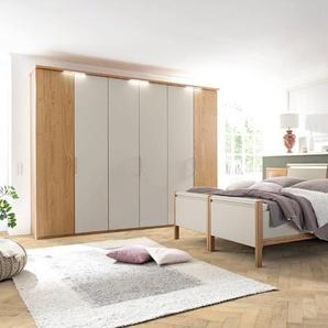 Loddenkemper Schlafzimmer-Set, Grau, Lack