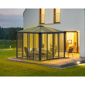 Palram Aluminium Wintergarten und Pavillon Ledro 3000, 295x295 cm