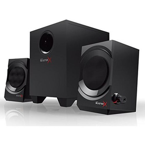 Creative Sound BlasterX Kratos S3 - Analoge 2.1 Gaming Speaker, schwarz