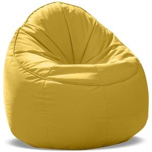 SittingBull® Tube Sitzsack-Sessel Soft Yellow