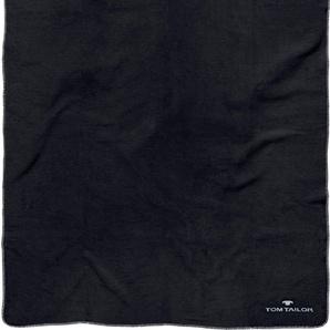 Tom Tailor Wohndecke  »Basti«, 150x200 cm, schwarz
