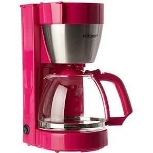 Cloer 5017-1 Kaffeeautomat in pink, Kunststoff, Edelstahl,