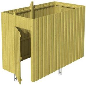 SKANHOLZ Skan Holz Abstellraum A1 für Carports 314 x 220 x 164 cm