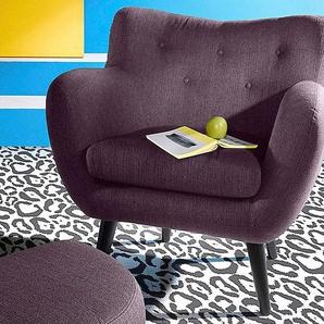 INOSIGN Sessel, lila, Struktur