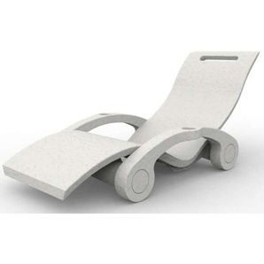 Floating Chaiselongue Serendipity Weiss ARKEMA DESIGN - prodotto made in Italy CV-S130/9003