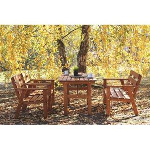 4-Sitzer Gartengarnitur Erwon