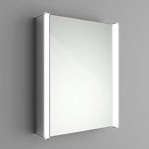 Soak Moderner Spiegelschrank für das Badezimmer - Badschrank mit Spiegel - 65 x 50 cm, inkl. Bluetooth-Lautsprecher, einfache Montage