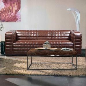 Couch im Retrostil Braun