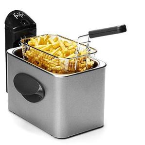 1900 - M3000 Metal 2000 Watt RVS koude zone 2,5 L friteuse - Frifri