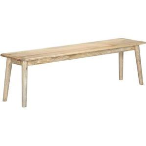 Sitzbank 160 cm Massivholz Mango - VIDAXL