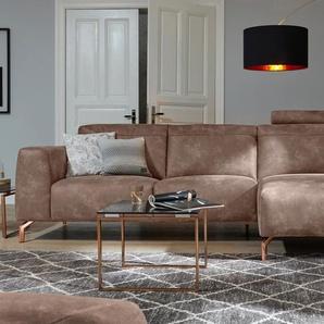 Guido Maria Kretschmer Home&living Ecksofa »Reval«, braun, FSC®-zertifiziert