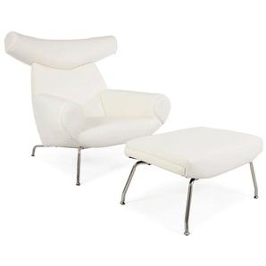 Ox Wegner Sessel - Weiß