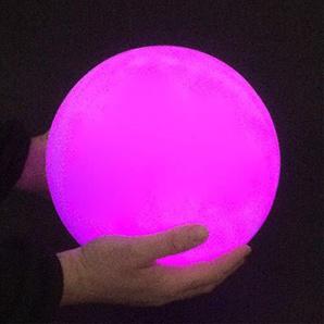Garten-Leuchtkugel, wechselt die Farbe, 25 cm