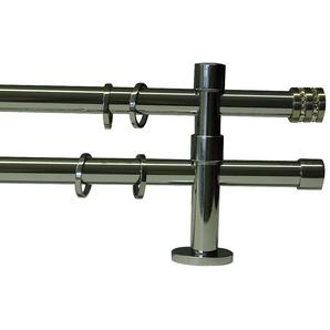 Gardinenstange »Glitter«, GARESA, Ø 20 mm, 2-läufig, Wunschmaßlänge