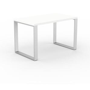 Designer Esstisch Massivholz Weiß - Individueller Designer-Massivholztisch: Einzigartiges Design - 120 x 75 x 70 cm, Modular