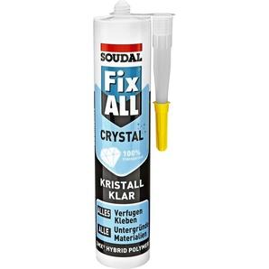 Soudal Klebstoff Fix all kristallklar