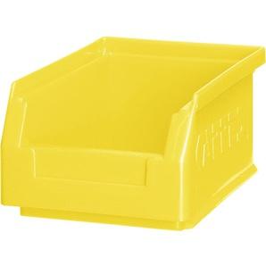 RAU Sichtlagerkasten - gelb (VE = 10 Stück) BxHxT 105mm 130mm 160mm