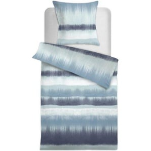 Bettwäscheset Samos, B:135cm x L:200cm, blau