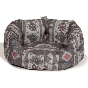 Hundebett Fairisle Pebble
