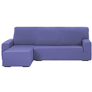 Martina Home Tunez Schutzhülle Sofa für Chaise Longue, 32x 17x 42cm kurzer linker Arm (Vorderansicht) 32x17x42 cm, lila