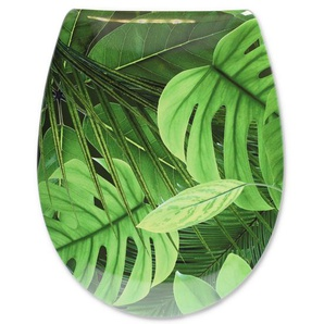 cedo WC-Sitz Jungle grün