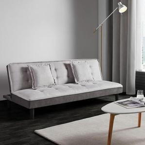 Sofa Babette mit Schlaffunktion inkl. Kissen