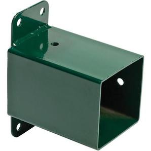 Rohrverbindungsstück quadratisch grün 90x90mm