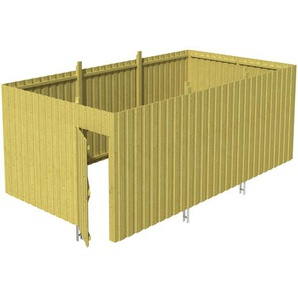 SKANHOLZ Skan Holz Abstellraum A6 für Carports 573 x 220 x 317 cm