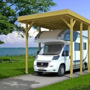 SKANHOLZ Einzelcarport »Friesland«, BxT: 397x708 cm, für Caravan