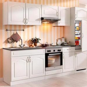 Wiho Küchen Küchenzeile mit E-Geräten »Lausanne«, Breite 270 cm