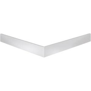 Schulte Schürze für Duschbecken Quadrat extraflach Alpinweiß 90 x 90 cm