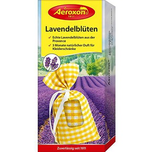 Aeroxon Lavendelblüten-Beutel, Gelb/Weiß, 18 x 13 x 4 cm