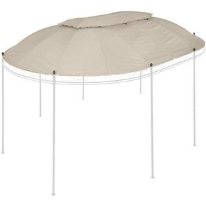 KONIFERA Ersatzdach für Pavillon »Oval«, BxL: 350x500 cm, beige