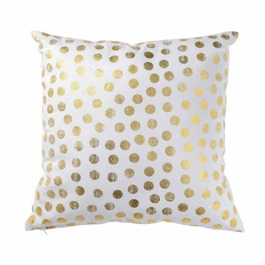Kissen Golden Dots, B:45cm x L:45cm, gold