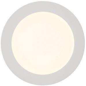 Brilliant Leuchten Laureen LED Einbauleuchte 17cm fest weiß