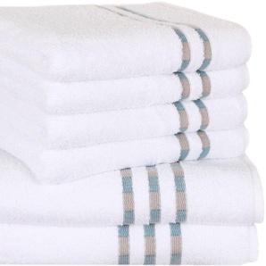 Delindo Lifestyle Handtuch Set »Colares« (Set, 6-tlg), aus hochwertigem Walkfrottier