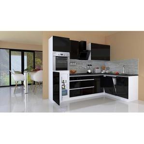 Winkelküchen in Schwarz Preisvergleich | Moebel 24