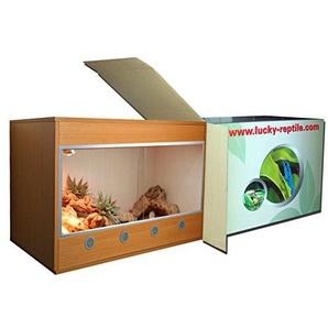 Lucky Reptile FT-644M FurniTarrium Ahorn, Holzterrarium, 60 x 40 x 40 cm