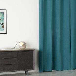 2 x Dorin Vorhangschals (135 x 260 cm), Blaugruen