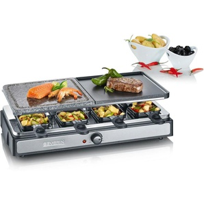 Raclette-Grill RG 2344, silber, Severin