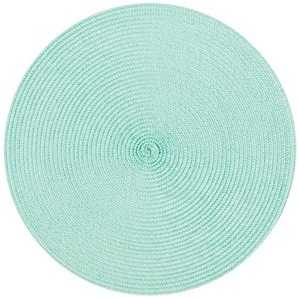 Weiss Grau 50x35 cm Stoff Tischsets 4-er Pack Leinen Platzsets