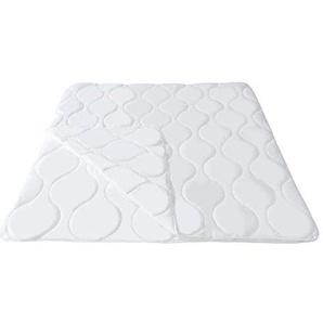 Mack 4 Jahreszeiten Bettdecke 200x200cm Microfaser Bettdecke 4 Jahreszeiten 200x200 4 Jahreszeitenbett Steppbett Steppdecke aus Microfaser Allergiker geeignet mit Drückknöpfen