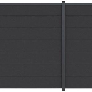LUOMAN Set: Sichtschutzelement BxH: 360x180 cm, Pfosten zum aufschrauben