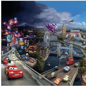 Fototapete »CarsWorld 368x254cm«, Comic